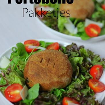 Vegetarische Kerstmenu I Hoofdgerecht: Portobello Pakketjes