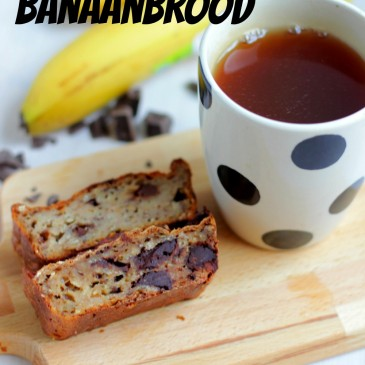 Cottage Cheese Banaan Brood