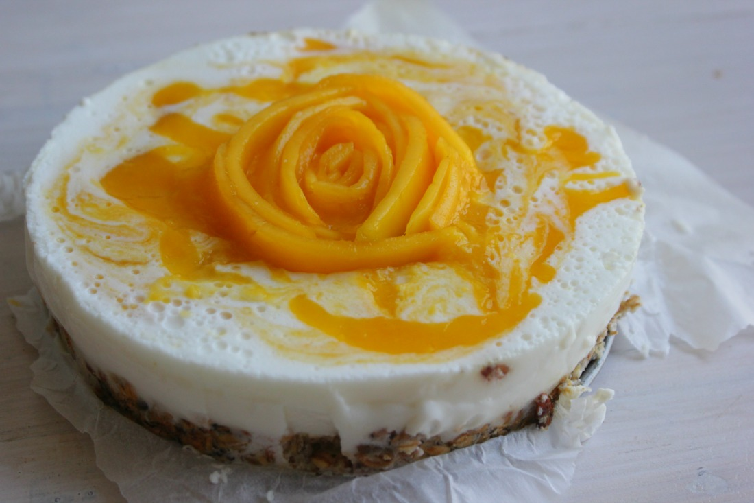 Mango Yoghurt Taart