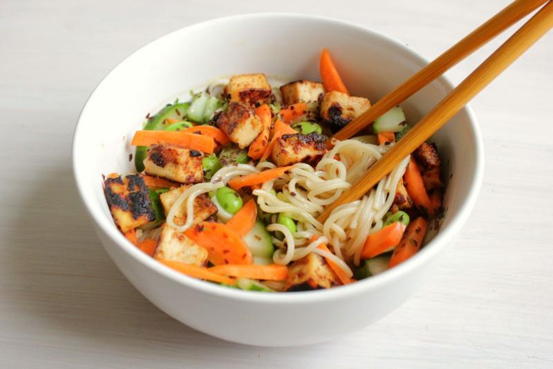Makkelijk en Snel voor Een: Azian Noodle Salad
