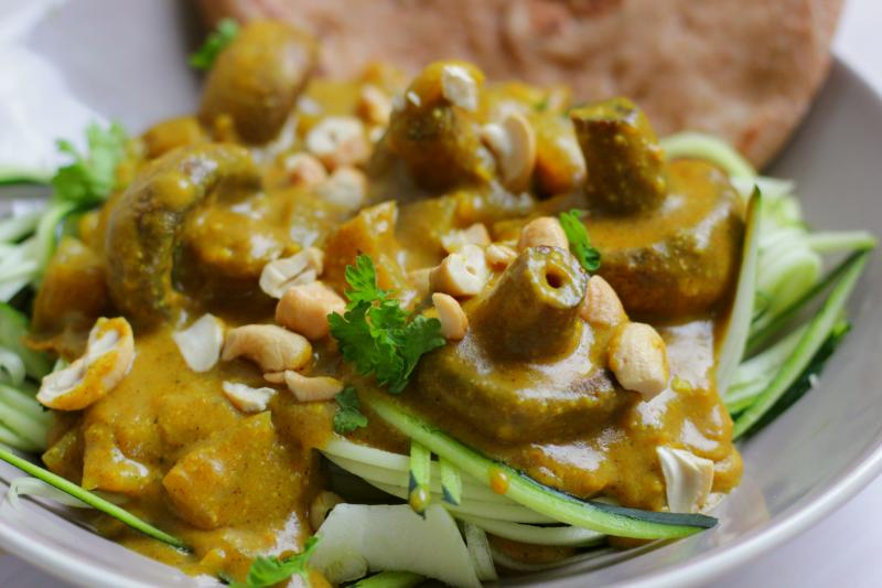 champignon curry