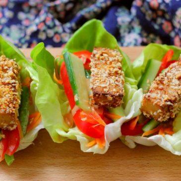 Crispy Pinda Tofu