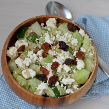 Salade Inspiratie: Meloen Couscous Salade