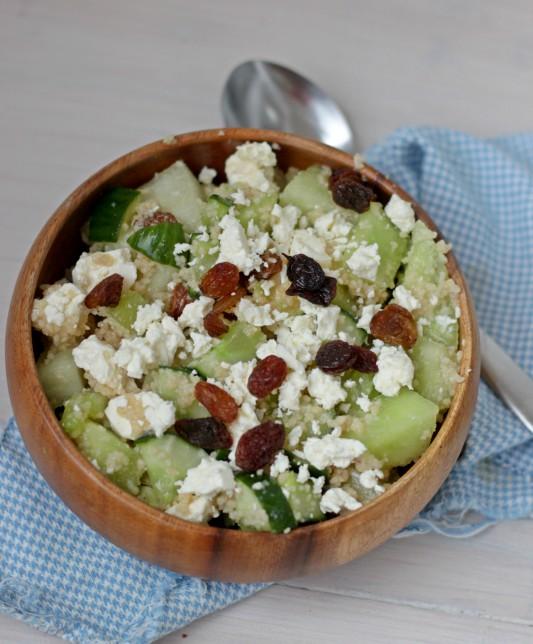 meloen couscous salade