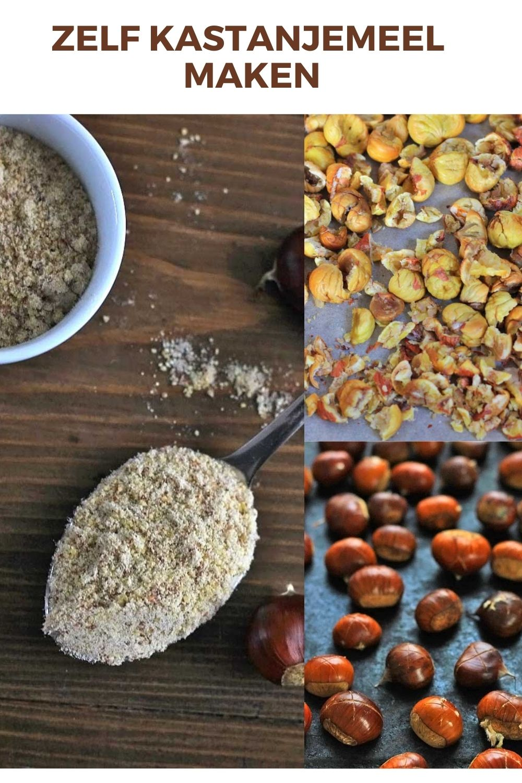 Kastanjemeel zelf maken – glutenvrij