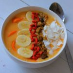 Kaki Vanille Smoothie Bowl