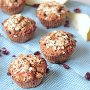 Havermout Peer Muffins (Vegan)