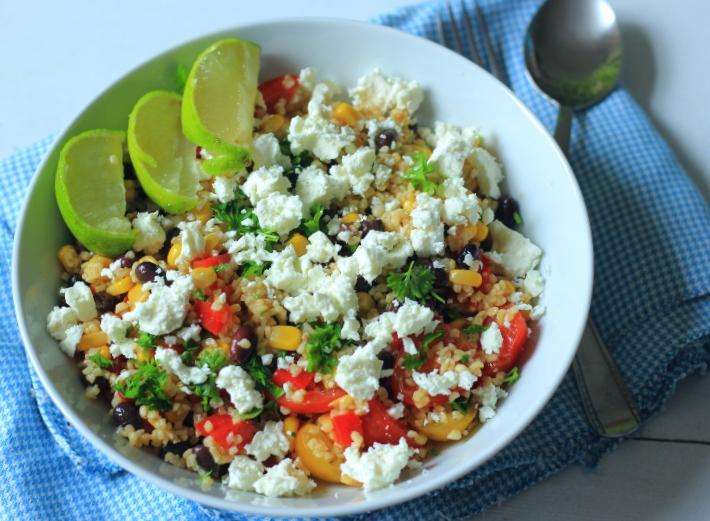 Tex Mex Bulghur Salade