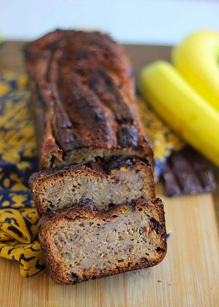 Eiwitrijk Banaanbrood – Suikerarm