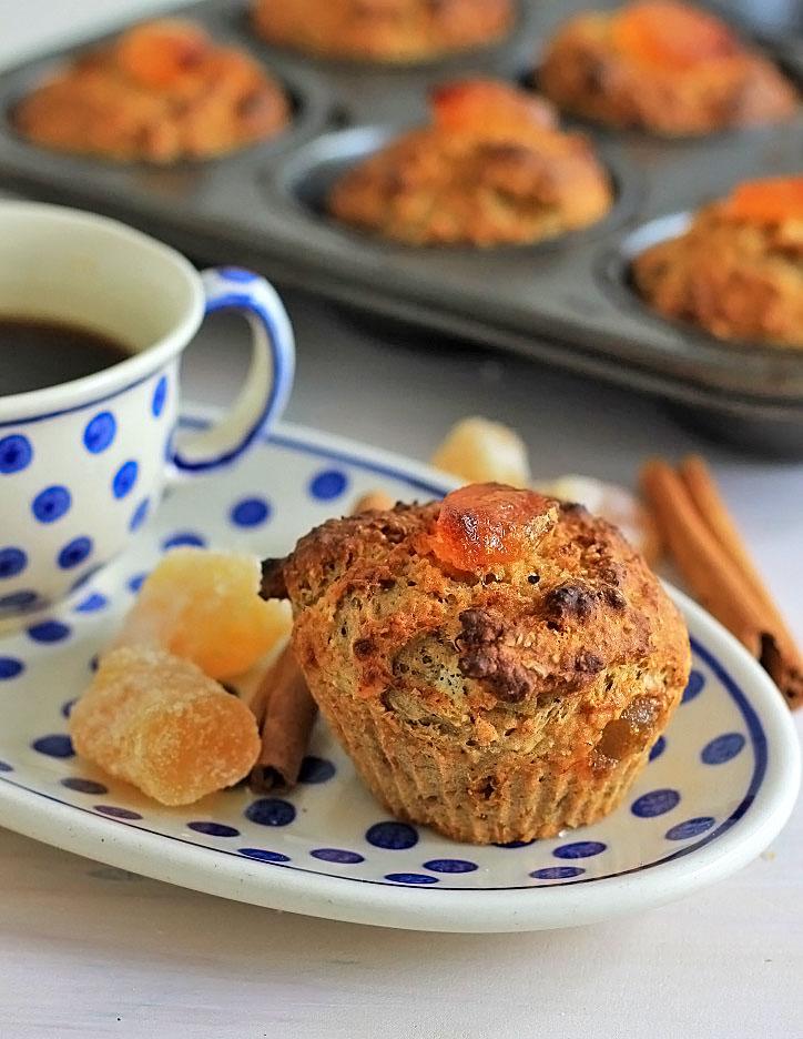 Spicy Gember Muffins